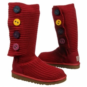 Kids UGG ' Cardy II Pre/Grd Jester Red Shoes.com