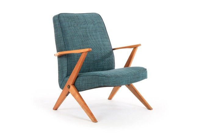Bengt Ruda Armchair - Mr. Bigglesworthy Designer Vintage Furniture Gallery