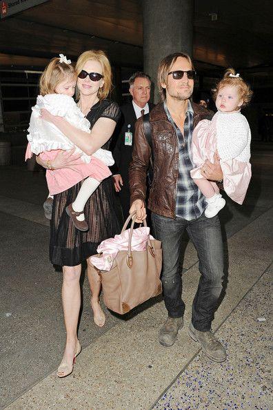 Keith Urban, Nicole Kidman and daughters