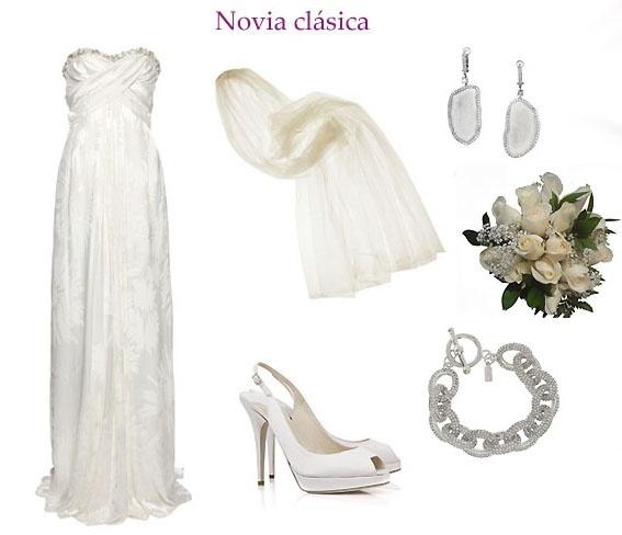 Look novia clasica