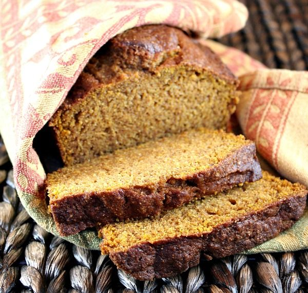 Whole Wheat Olive Oil Pumpkin Bread - kids liked it - I thought it was ok