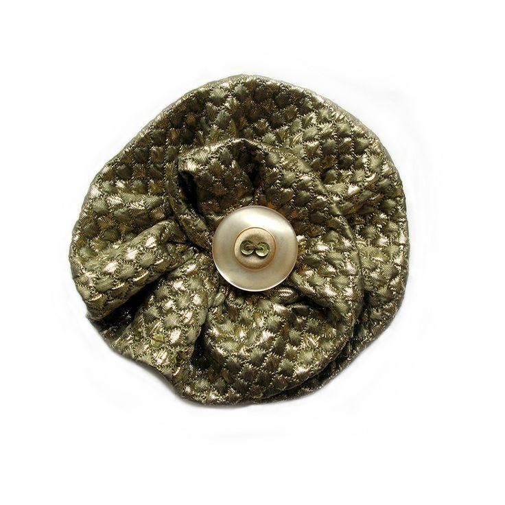 Tudor Flower Brooch by Amalia Karagergou
