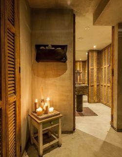 Beautiful toilet doors - Cafe Zurich, Amsterdam