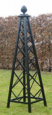 Rozenbogen obelisken zelf maken