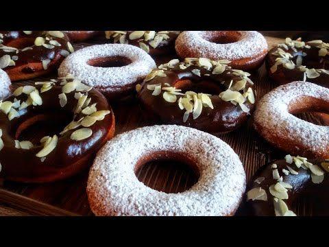 اطيب دونات هشة و خفيفة باسهل و انجح عجين مثل المحلات بينيي Youtube Food Desserts Doughnut