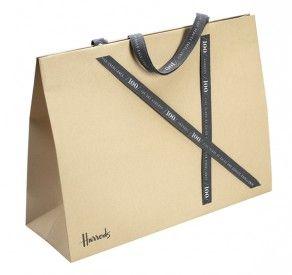 Bespoke paper carrier bag