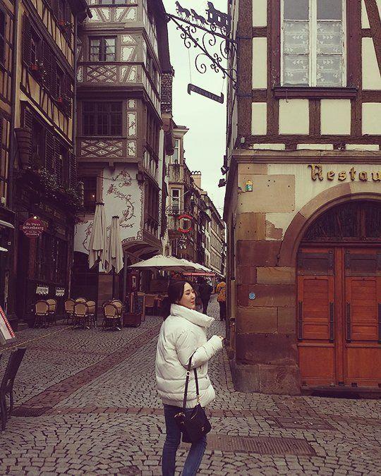 넘나 예쁜 거리 #알자스  #France #Alsas #프랑스 #독일 #Germany #여행중 #일상 #travel #view #daily #instapic by chicjin2