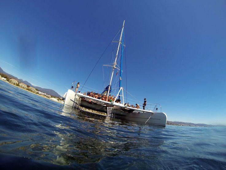 Marbella at sea