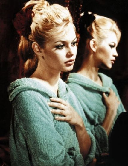 Brigitte Bardot in a scene from the  film, A woman like Satan,1958