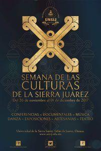 Se desarrollará la X edición de la Semana de las Culturas de la Sierra Juárez