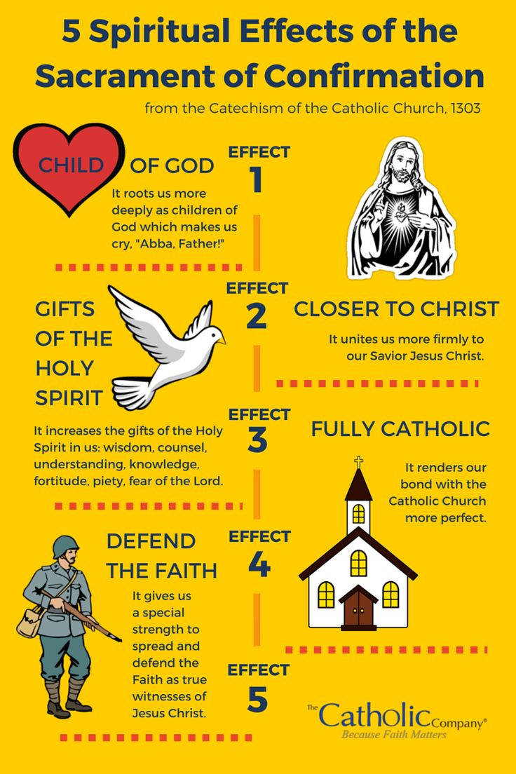 5 Spiritual Effects of the Sacrament of Confirmation: For those who have already been Confirmed, this list can inspire the following question in our hearts: Am I fully living according to the grace of the Holy Spirit bestowed on me at my Confirmation?