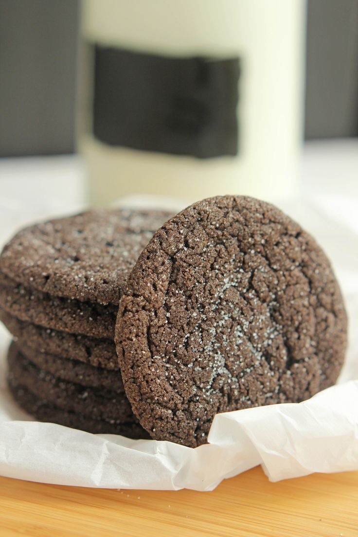 Archway Dutch Cocoa Cookies - A copycat recipe for indulgent delicious chocolate cookies. Topped with sugar these home style cookies are a family favorite!