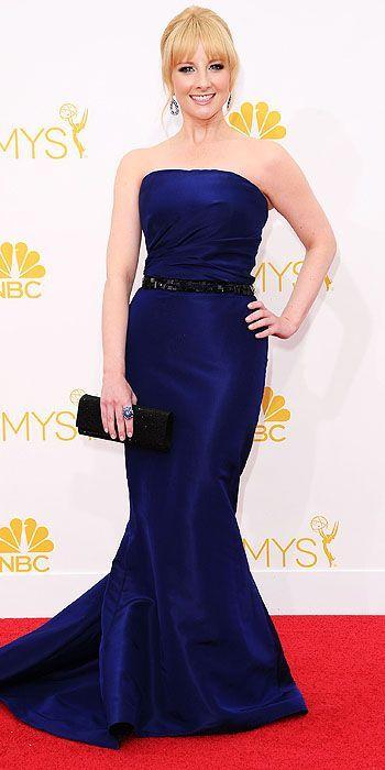 Melissa Rauch in Pamella Roland - The 2014 Emmy Awards