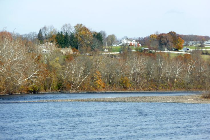 Mount Amwell on the Delaware River, Hunterdon County; home of John Reading, 1704 (the buildings are modern)