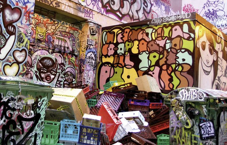 Andy Mac's collection of stencils, graffiti work, posters, paintings ceramics, furniture and clothing – amassed over the last two decades –will be sold through South Yarra-based auction house Leonard Joel on Sunday 6 May.