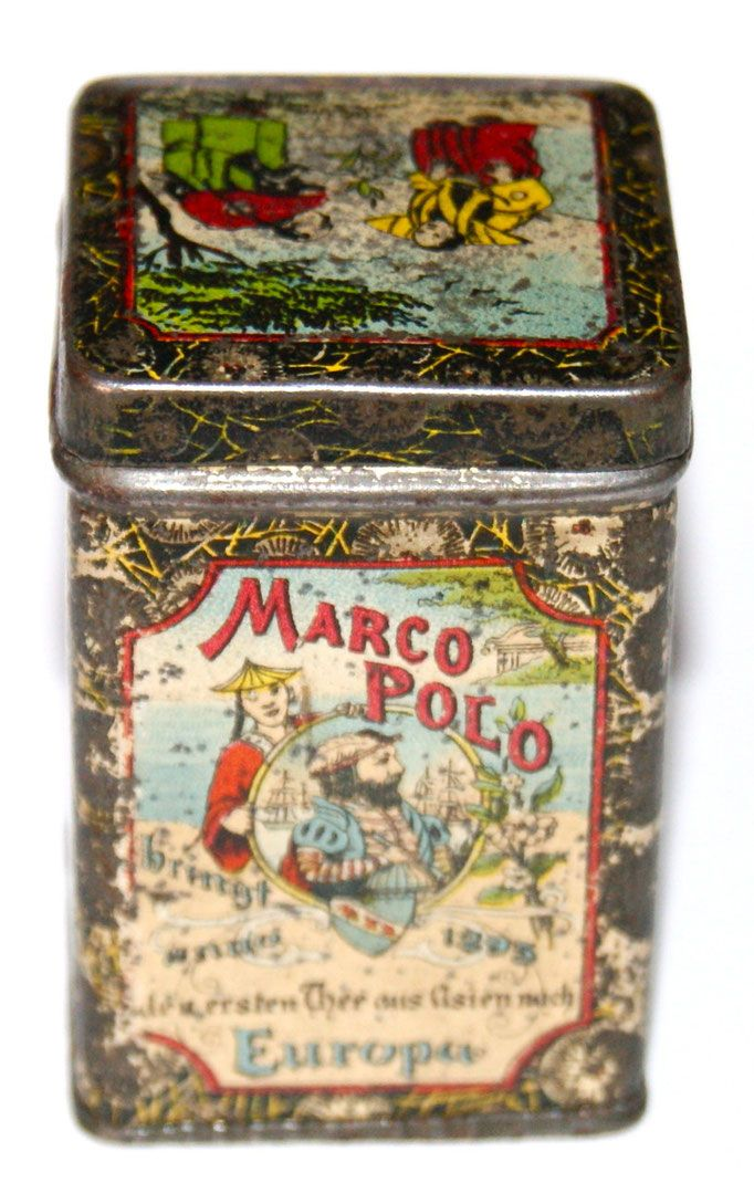 Marco Polo tea tin