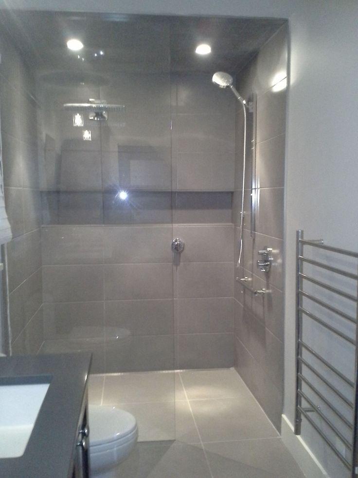 Zero Entry Shower Early Acres Master Bath Closet