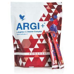 ARGI+ BUSTINE ARGI+ è disponibile in una nuova pratica confezione in bustine predosate creata per renderne possibile l'assunzione ovunque ci si trovi. ARGI+ fornisce tutta la carica energetica proveniente dalla L-Arginina, insieme a vitamine, buccia di uva, melograno ed estratti rossi per il benessere della circolazione e del sistema immunitario. Insieme, questi ingredienti supportano in modo ottimale tutto l'organismo. Contenuto: 300g (30 bustine da 10g ciascuna)