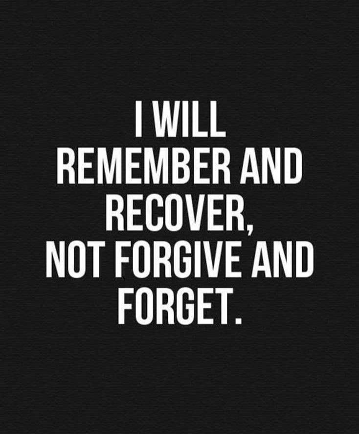 Forgive And Forget Quotes And Sayings