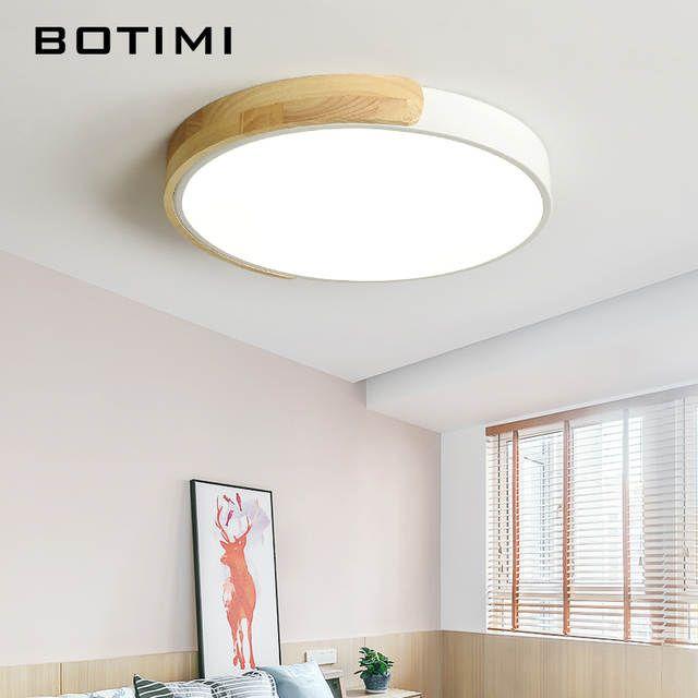 Online Shop Botimi 現代 220 V Led シーリングライト金属寝室のための