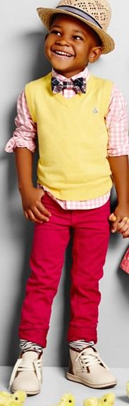seriously... i want my future li'l boy to be THIS cute & THIS dapper :p gotta love gap for kids!