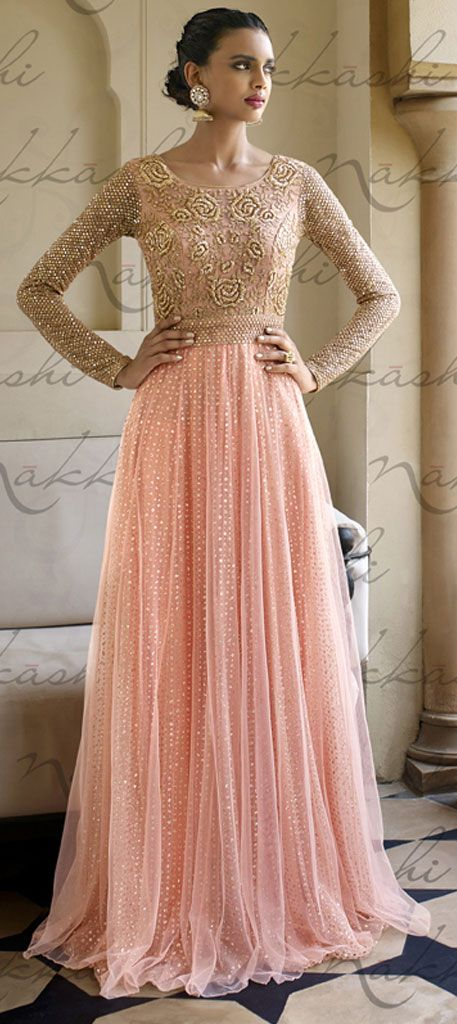 447575: Pink and Majenta color family semi-stiched Party Wear Salwar Kameez .