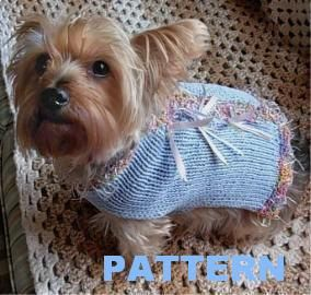 1000 Images About Pet Apparell Knit On Pinterest