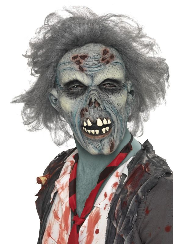 Decaying Zombie  : Get It On Fancy Dress Superstore, Fancy Dress & Accessories For The Whole Family. http://www.getiton-fancydress.co.uk/seasonal/halloweenhorror/halloweenaccessories/halloweenmasks/decayingzombie#.Uunz9_sry10