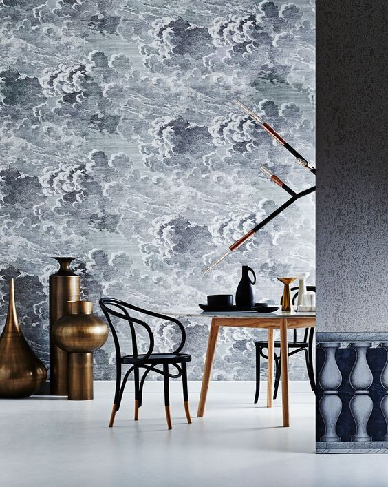 Cole and Sons Nuvolette Wallcovering