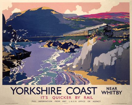Yorkshire Coast 1937 by Frank Henry Mason
