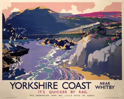 Yorkshire Coast 1937 by Frank Henry Mason