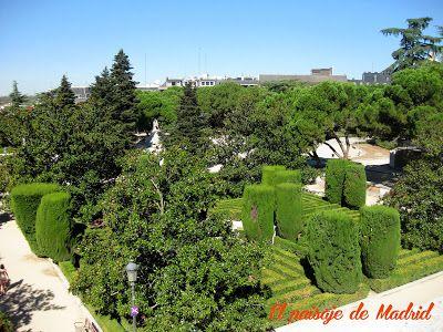 Los Trabajos de Jardinería de Fernando García Mercadal en Madrid Jardines de sabatini http://elpaisajedemadrid.blogspot.com.es/2014/01/los-trabajos-de-jardineria-de-fernando.html