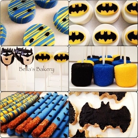 for someone i know that loves batman and a little boy who is turning one.....