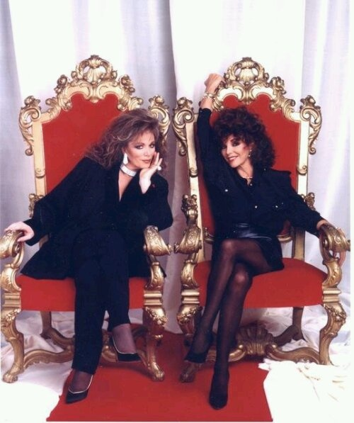 Joan & Jackie Collins