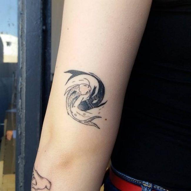 Best 25+ Yin Yang Tattoos Ideas On Pinterest