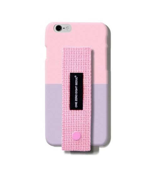 Hang On Smart Phone Case IPHONE6,6S Modern Case Pink + Purple 2Tone #HangOn