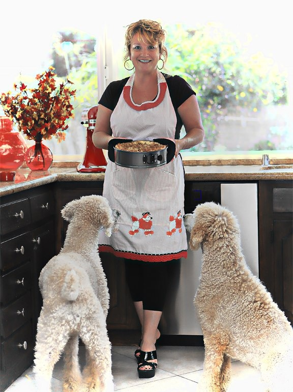 Cooking just for dogs.