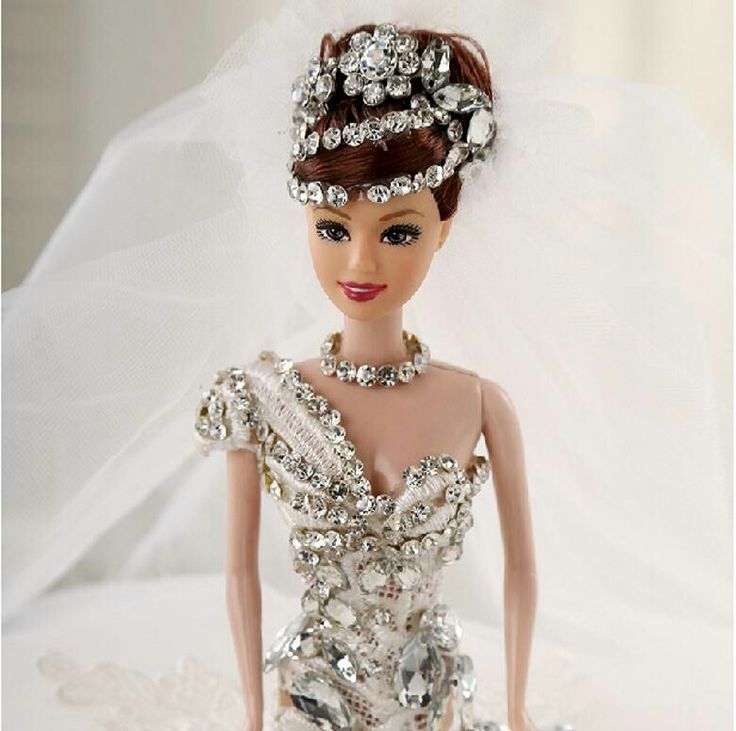 55 best images about doll wedding dress on pinterest