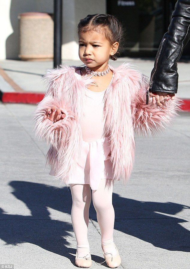 Designer darling! Kim Kardashian pays $5k a week for a glam squad for daughter North West, three - including hairstylist and manicurist