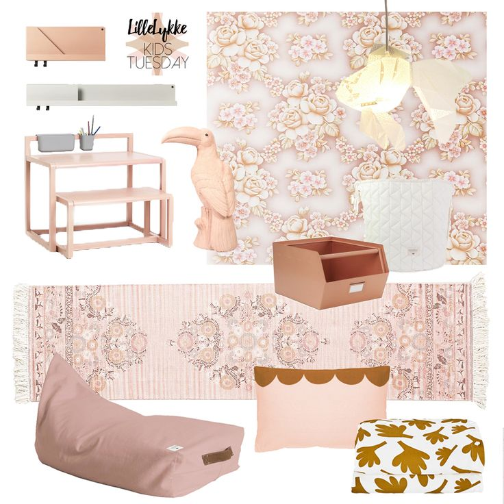 2017-march 21 - Kids Tuesday... a modern romantic lush pink girls room - Lille Lykke blog inspires readers since 2007. Every Friday we post our Favorite Friday. Interior, kids, restaurants, lifestyle, there is no limit, just great style.