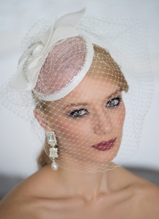 velletta spos. bridal hat with veil