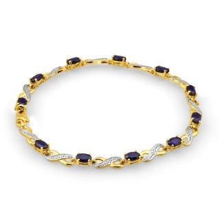 Bracelet, sapphire bracelet, online jewellery, gold, grahams jewellers