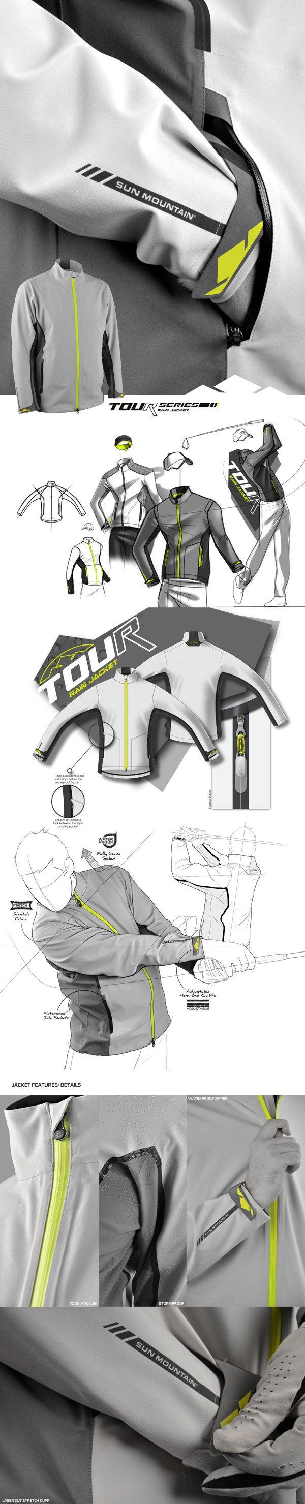 Tour Series Jacket by IOTA Design, via Behance