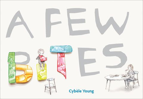 A Few Bites, written and illustrated by Cybele Young. Shortlisted for the Ruth and Sylvia Schwartz Children's Picture Book Award and selected as an OLA Best Bet for 2012. Just as in A Few Blocks, an ordinary event seen through a child's eyes becomes an amazing adventure. This time the children switch back and forth between the lunch table and the elaborate fantasy worlds they imagine (shown in Cybele Young's intricate paper sculptures, which she has created from paintings of the children's…