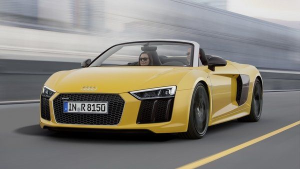 2017 Audi R8 Spyder Review - Top Speed
