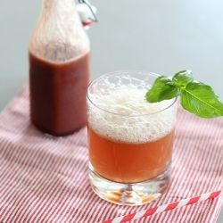 Cherry Basil Soda