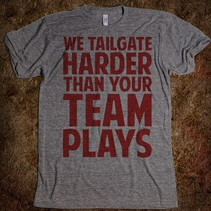 We Tailgate Hard - Football - Skreened T-shirts, Organic Shirts, Hoodies, Kids Tees, Baby One-Pieces and Tote Bags Custom T-Shirts, Organic Shirts, Hoodies, Novelty Gifts, Kids Apparel, Baby One-Pieces | Skreened - Ethical Custom Apparel