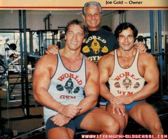 Joe gold arnie and franko pomp man pinterest workout