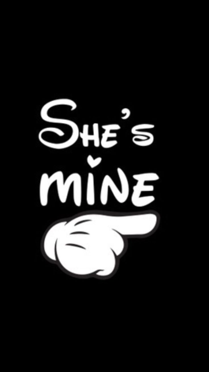 She's mine.