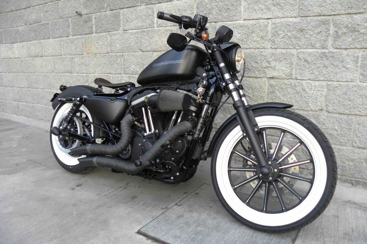 Harley Davidson Forums - saul Mexicos Album: My iron 883 custom - Picture